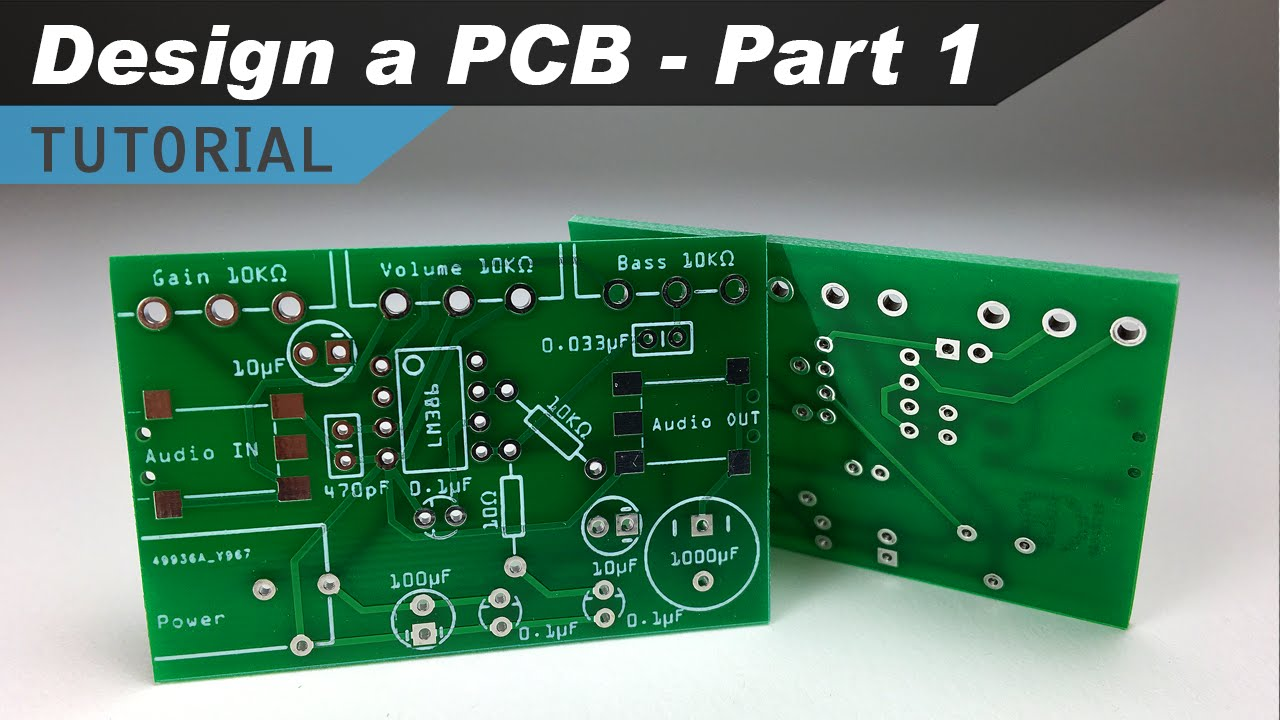 How to Make a Custom PCB - Part 1 - Making the Schematic - YouTube