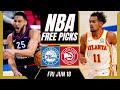 Free NBA Picks Today | Sixers vs Hawks (6/18/21) NBA Best Bets and NBA Predictions