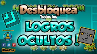 DESBLOQUEA TODOS LOS LOGROS OCULTOS DE GEOMETRY DASH 2.0! - GuitarHeroStyles