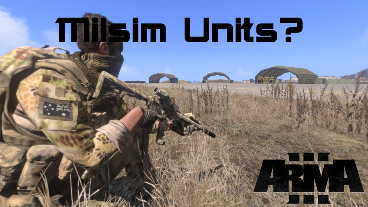 Why you should join a Milsim Unit in Arma 3
