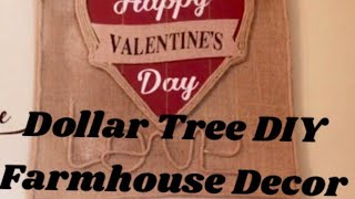 Dollar Tree DIY Farmhouse Valentines Wall Decor Rustic Wall Art  Creating Elegance For Less 2019