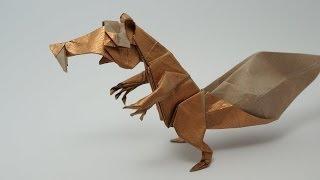 Origami Scrat - Time-lapse (Fernando Gilgado)