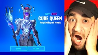 How To Get Forтnitemares Skins EARLY! (Cube Queen)