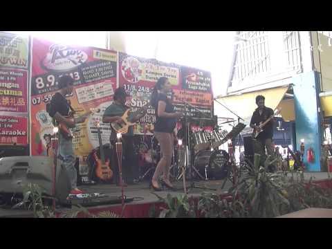 Rindu Sharifah Aini cover by Liya and Red diamond/Ei-Mei band
