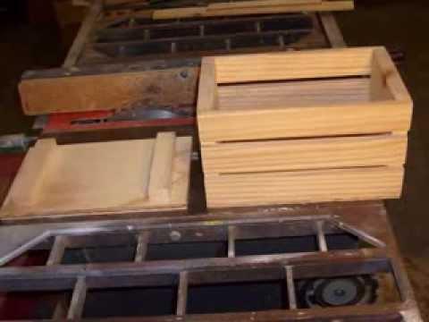Simple Wood Storage Box