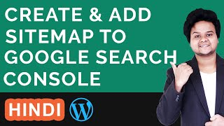 How to Create a Sitemap for WordPress Website and Submit XML Sitemap Google Search Console Hindi