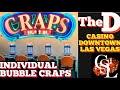 DEALER SCREWS UP - Live Craps Game #19 - the D Casino, Las ...
