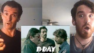 D-DAY Trailer REACTION!! | Irrfan Khan | Rishi Kapoor