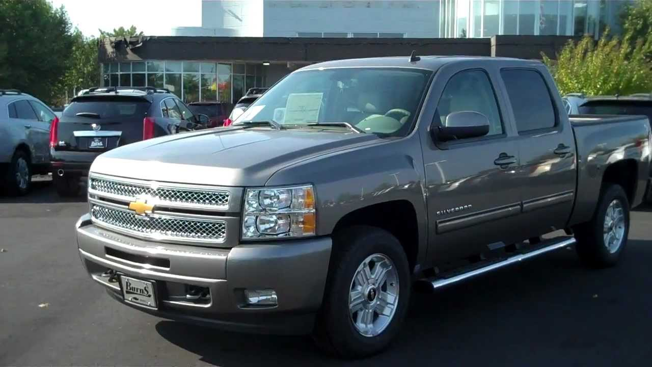 All Chevy 2013 chevy 2500hd ltz : 2013 Chevrolet Silverado Crew Cab LTZ Greystone Metallic, Burns ...