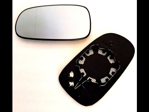 03-09 Saab Mirror Glass Replacement/Upgrade