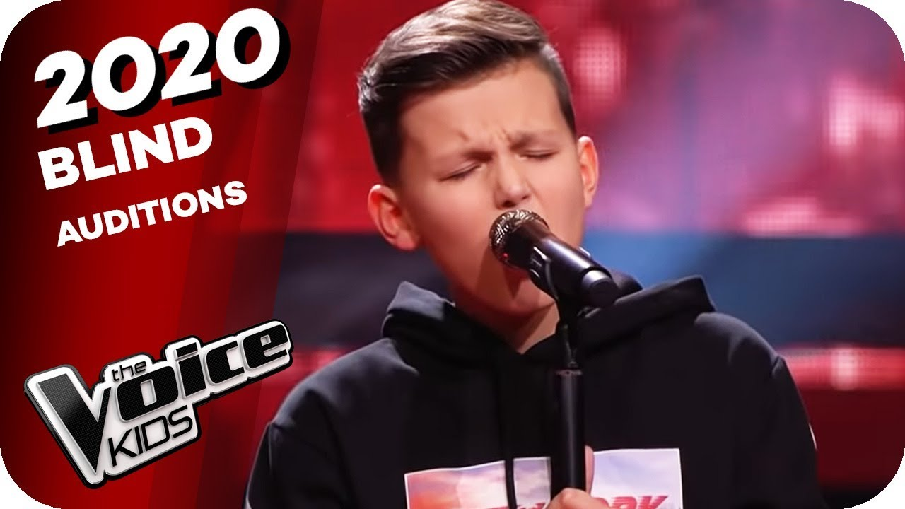 Bryan Adams Heaven Luc The Voice Kids 2020 Blind Auditions Youtube