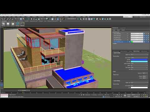 3ds Max 2018 Update 3 featuring Max Fluids