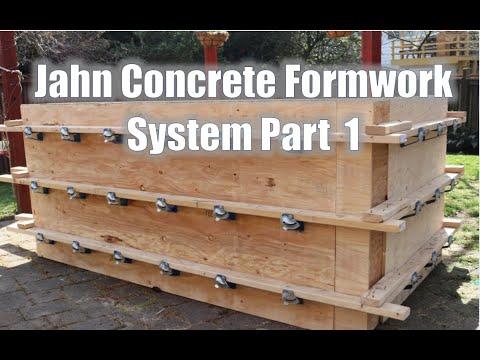 Intro To Jahn Concrete Formwork Systems Part 1