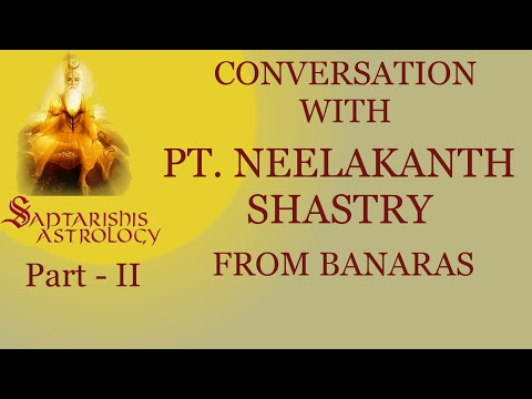 Part 2 - Conversation with Pt Neelakanth Shastry - From Banaras (with English Subtitles)