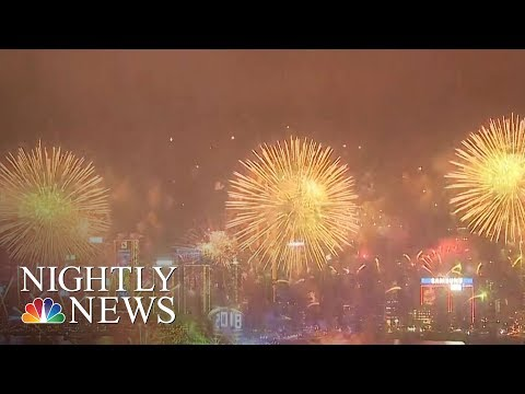 How The World Rang in 2018 | NBC Nightly News