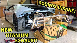 Download Rebuilding A Wrecked Lamborghini Huracan Part 23 Mp3 and Videos