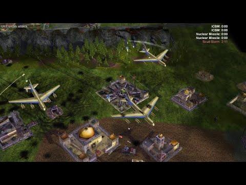 USA Vs United Arab Vs China C&C Generals: Air Force Mod, Part 2មានបញ្ចូលលេងក្នុងPC Telegram069664141