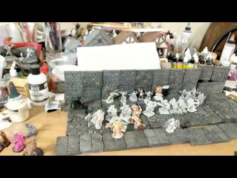 Opening Ebay Box Of Metal Miniatures