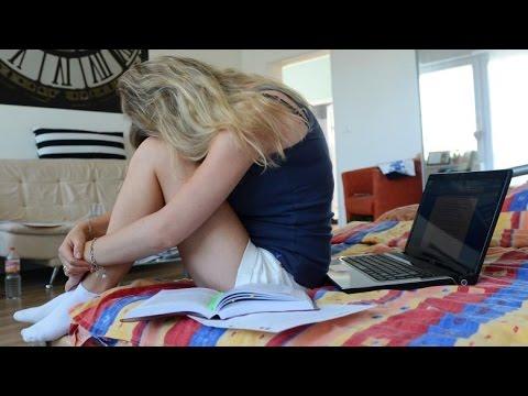 Burnout - Schüler fühlen sich oft überfordert