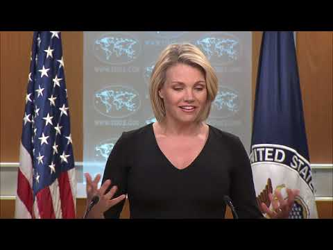 Department Press Briefing -  April 13, 2018