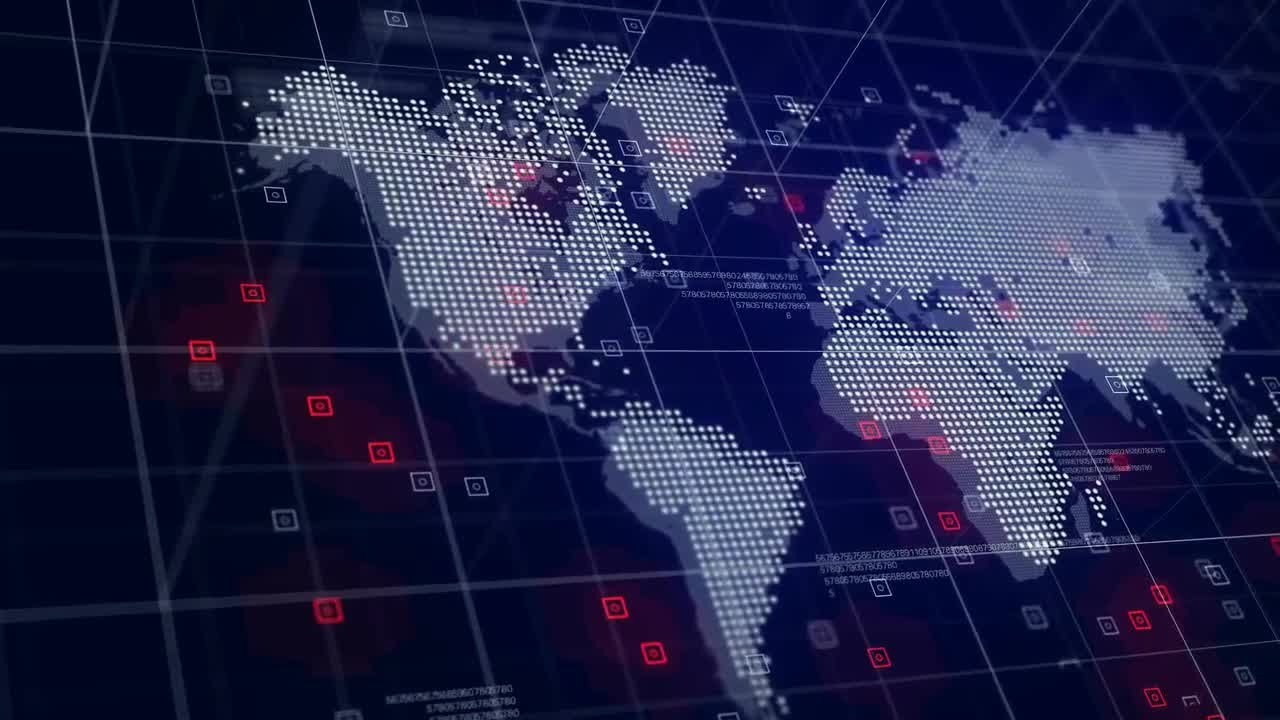 High tech world map motion graphics youtube high tech world map motion graphics gumiabroncs Image collections
