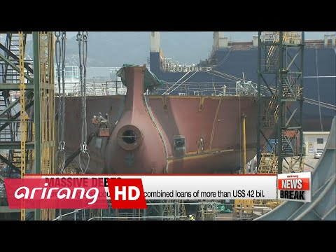Massive loans held by Korea's shipbuilders bode ill for local banks