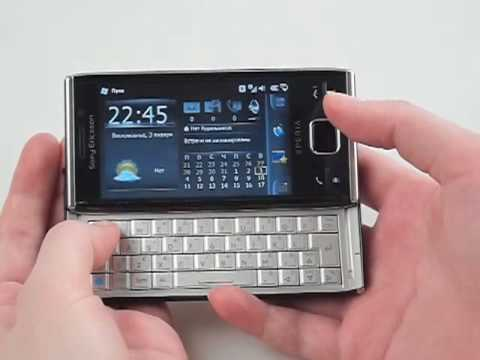 Обзор Sony Ericsson Xperia X2
