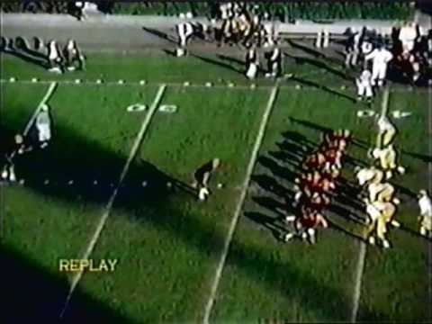 1965 Rose Bowl: Michigan 34 Oregon State 7