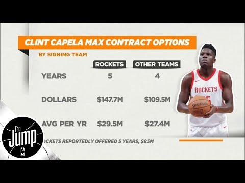What Is Going On With Clint Capela And The Houston Rockets? | The Jump | ESPN