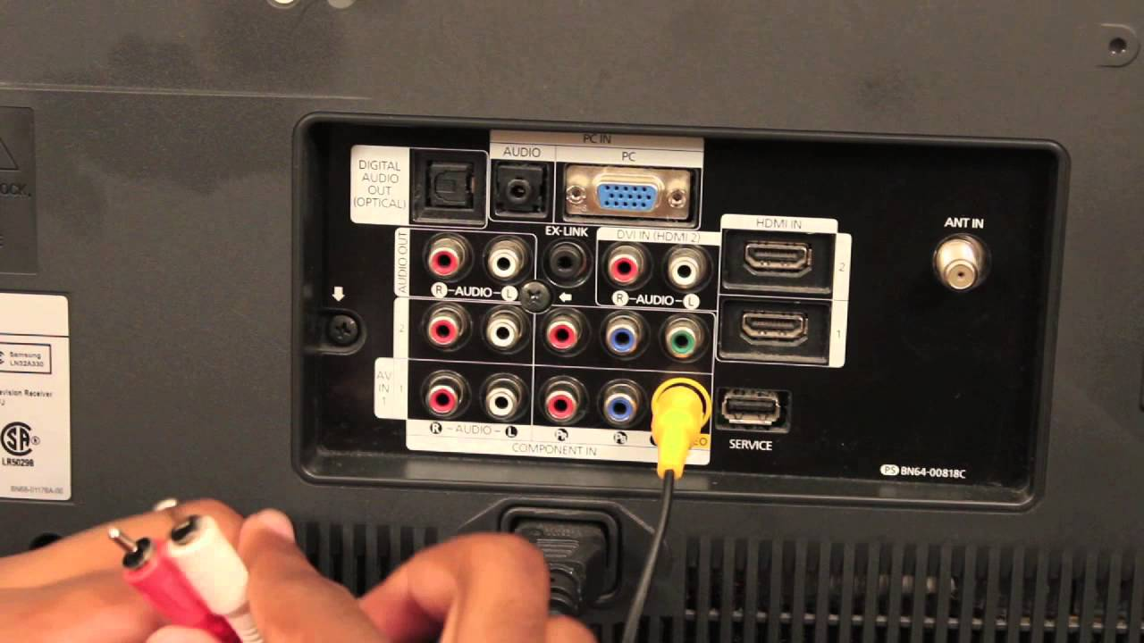 How To Plug Your Ps3 Into Your Tv Playstation Amp Ps3 Slim