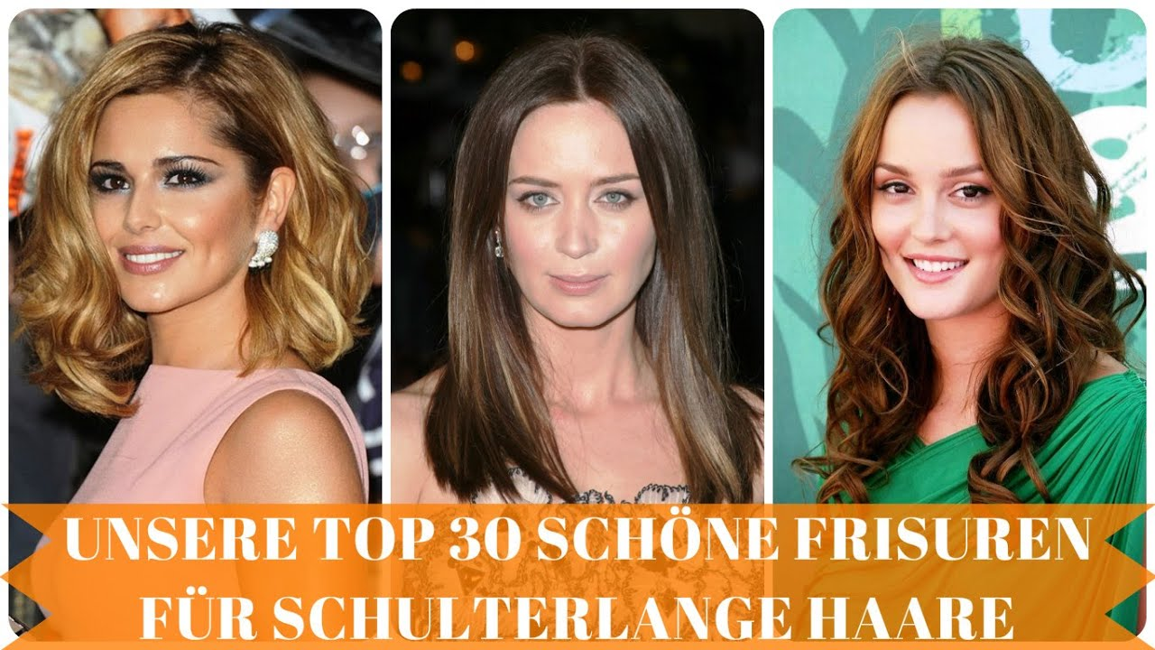 Unsere Top 30 Schöne Frisuren Für Schulterlange Haare YouTube