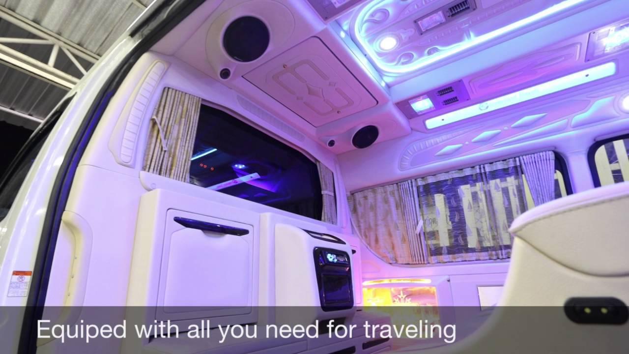 Toyota Hiace Commuter 30 Diesel VIP Luxury Executive Lounge 2016