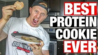 The Best Protein Cookie Recipe Ever | Snickerdoodle Protein Cookies