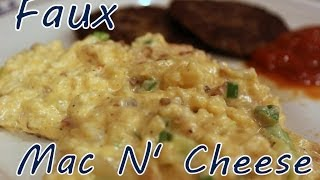 Atkins Diet Recipe: Low Carb Faux Mac N