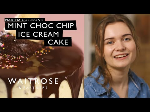 Martha Collison's Mint Choc Chip Ice Cream Cake | Waitrose