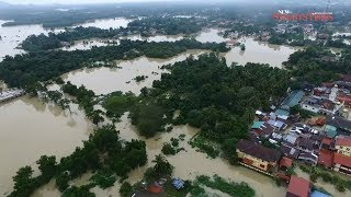 Rantau Panjang inundated, flood victims rise to 8,313 in Kelantan