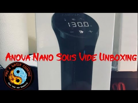 Unboxing and First Look at the Anova Nano Sous Vide Circulator