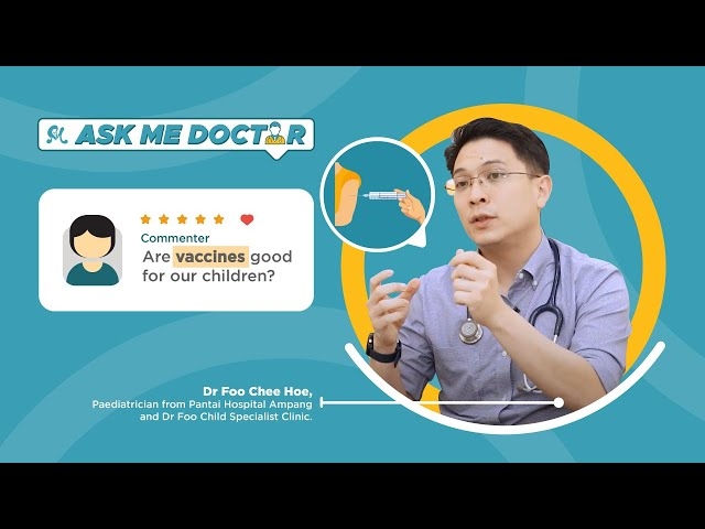 The Journey of Your Child Vaccine | Ask Me Doctor - Q&A with Paediatrician