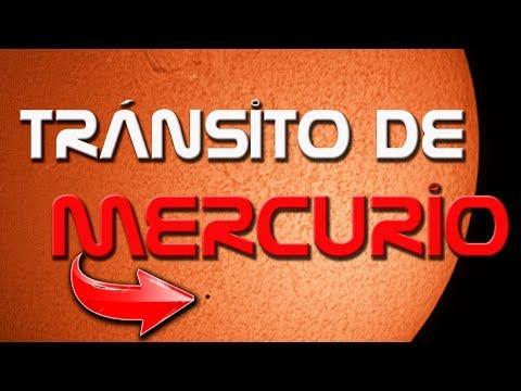 El TRÁNSITO DE MERCURIO de 2019