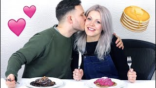 Couples Q & A + PANCAKES! Kids? Vegan Wedding? How Did We Meet?