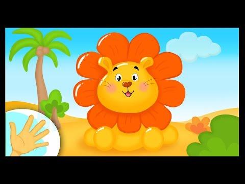 Comptinette du lion - comptine à gestes