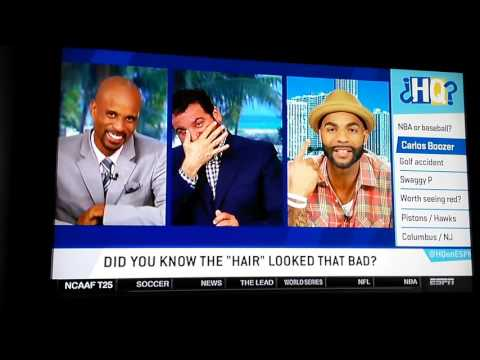Carlos Boozer Highly Questionable Hair dye