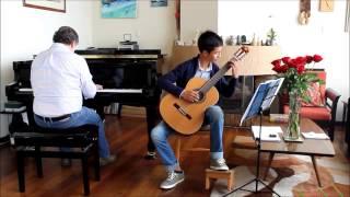 Sonatina Op. 68 para guitarra y piano, de Anton Diabelli 1er movimiento