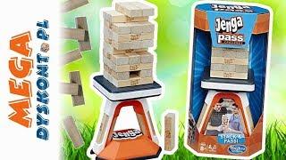 Jenga Pass • Challenge • Wielkie wyzwanie • Hasbro Gaming • gry dla dzieci