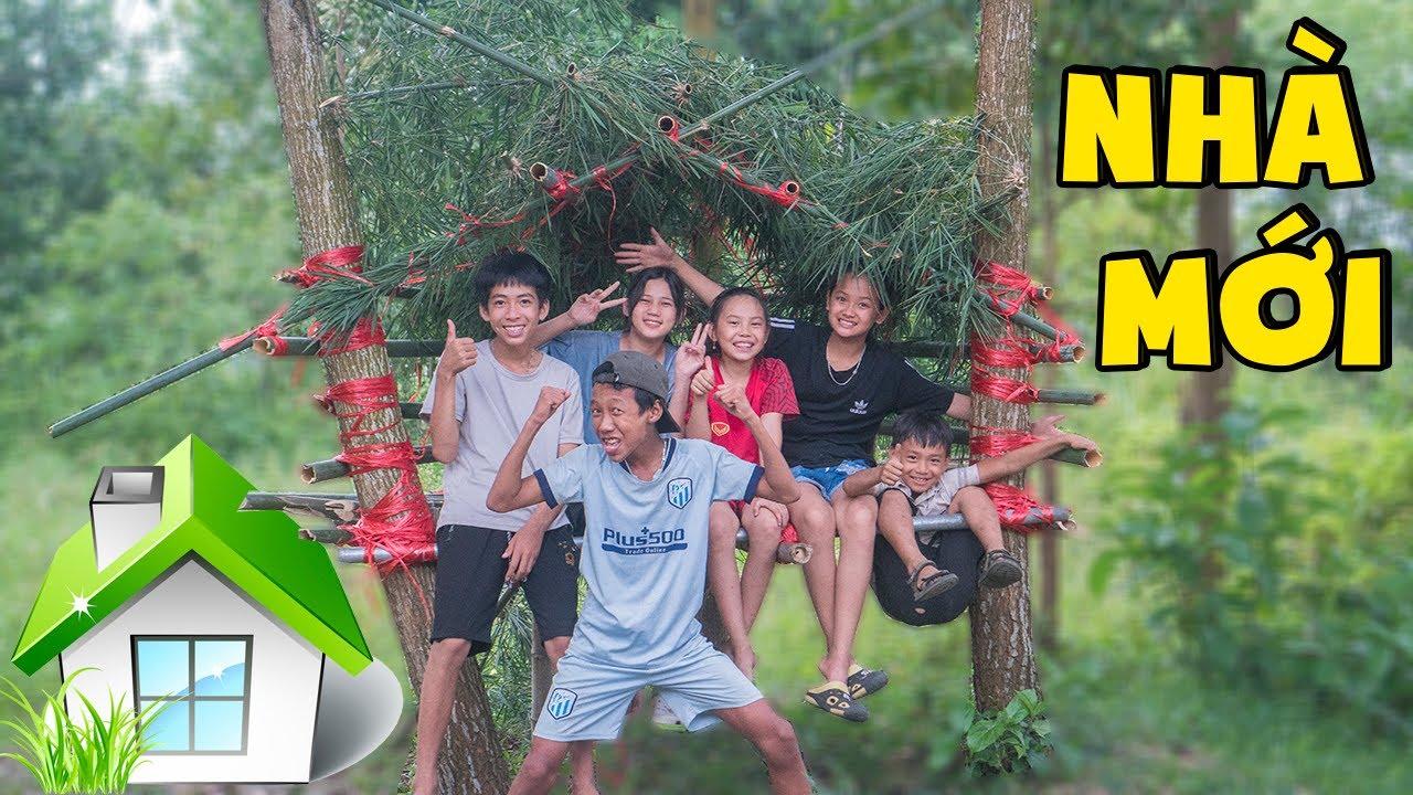 Thái Chuối | Cả Team Hoàn Thành Ngôi Nhà Trên Cây Chuẩn Bị Thử Thách 24h Trên Không