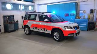 In 7 Schritten zum Polizeiauto