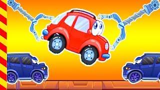 Машина Вилли попала в стальные руки. Вилли 8 мультик для малышей. Прохождение игры про Вилли.