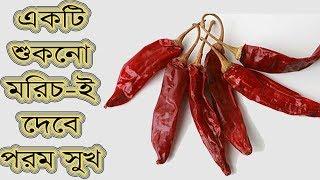 মাত্র একটি শুকনো মরিচই দেবে পরম সুখ ! ফলাফল নিশ্চিত | Benefits of Pepper | Tips Ghor