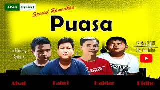 Film Komedi Pendek Spesial Ramadhan - Puasa (Alvin Project) #filmke4