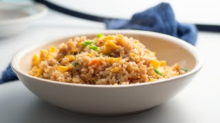 Fried Rice Done in 10 Minutes